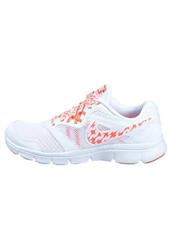 3 Nike Größe Kinder Mädchen Schuhe (Nike Mädchen 3FLX Experience RN 3MSL Running shoes-black/Pink/Weiß, Größe 3,5, Mädchen, weiß / orange, 37)