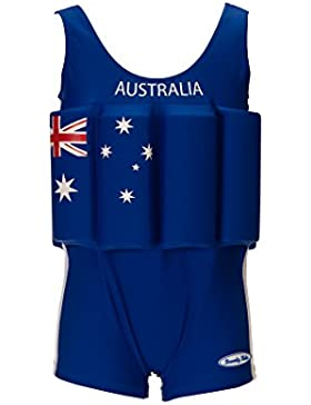 Beverly Kids Joven UV bojen de Bañador, Niños, Bojenanzug Jungen Australia, 110