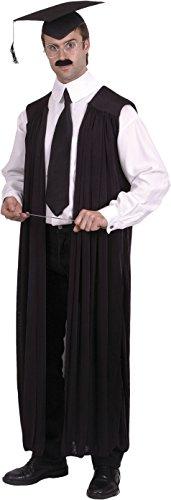 Smiffys, Herren Lehrer Kostüm, Robe, One Size, (Ideen Halloween Kostüme Lehrer Für Für)