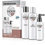 Nioxin - System 4, Sistema trifasico per la cura dei capelli, Cleanser + Scalp Revitaliser + Scalp Treatment, 3 pz.