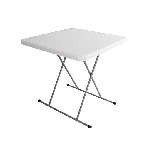 ZHWEI Klapptische Freizeit Outdoor Tisch Und Stuhl Kombination Haushalt Tabelle Computer-Lerntische 76 Cm