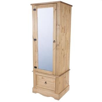 corona-mexican-style-1-mirrored-door-armoire-robe-in-distressed-waxed-pinefrom-centurion-pine
