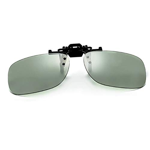 Sonnenbrille Clip UV400 on Polarisiert Flip up Sunglasses Frauen Männer für Myopie Brille im Freien/Fahren/Angeln