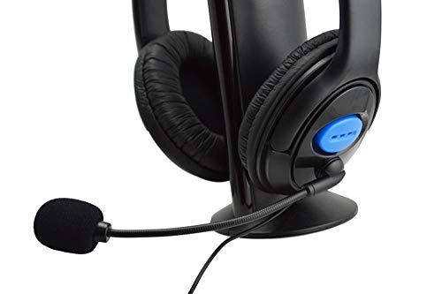OSYARD Kopfhörer/Ohrhörer/Headphones/Earphones/Earbuds,Kabelgebundenes Gaming Headset Kopfhörer mit Mikrofon für PS4 PC Laptop Phone,Stereo Sound Headphones mit 3,5 mm Kopfhörerstecker