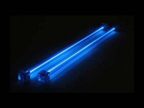 iMBAPrice? 12 Cold Cathode Case Lights - 2 Piece (Blue) with Inverter Kit by iMBAPrice Cathode Light Kit
