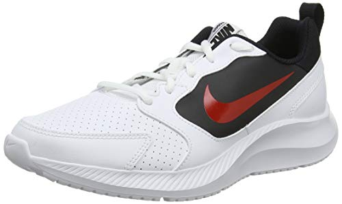 Nike Todos, Zapatillas de Entrenamiento para Hombre, Blanco White/University Red/Black 101, 44.5 EU...