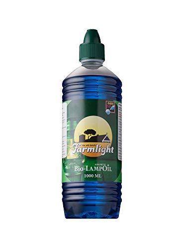 Bio Lampenöl Paraffinöl Paraffin 1Liter blau Farmlight -