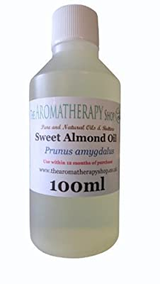 Pure Sweet Almond Oil 100ml from The Aromatherapy Shop Ltd