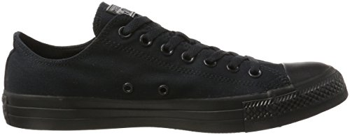 Converse All Star Ox Canvas, Scarpe da Ginnastica Unisex – Adulto Nero (Black Mono)