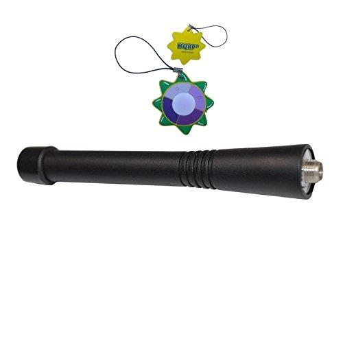 Visar-serie (HQRP VHF Antenne für Motorola SRX2200 / STX / Visar / XiR P8200 / XiR P8208 / XiR P8260 + HQRP Sonnenlichtmesser)