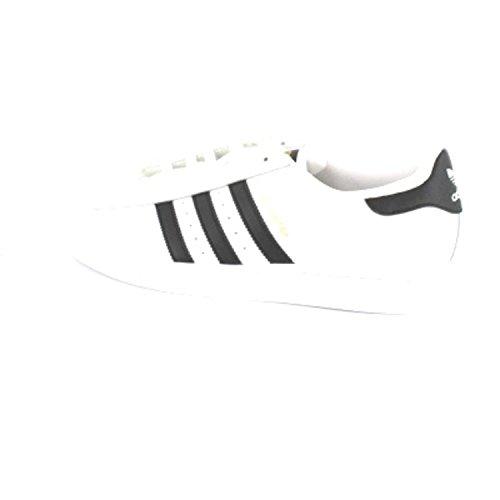 adidas Herren Superstar Flip-Flops Weiß / Schwarz (Ftwbla / Negbas / Ftwbla)