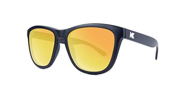 Sonnenbrillen Knockaround Premium Frosted Grey / Red Sunset polarisierten LqaZBDo