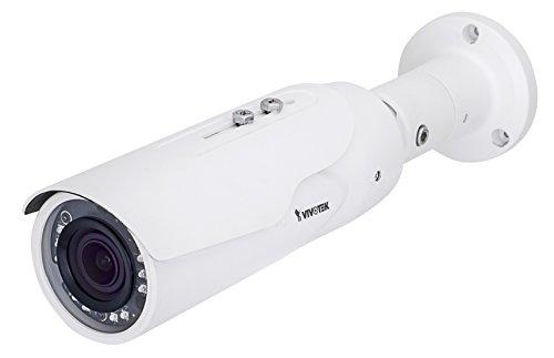 VIVOTEK IB8367A Bullet Netzwerkkamera (1080p FullHD Auflösung, Smart IR, 2,8-12mm Objektiv, 36,2-100,6 Grad Blickwinkel) 12 Mm Fixed Iris