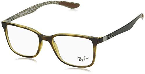Ray-Ban Herren 0RX8905 Brillengestelle, Braun (Havana), 53