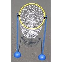 Pfosten und Ringset incl Trainerbedarf Netz für Tennis Trainerbedarf