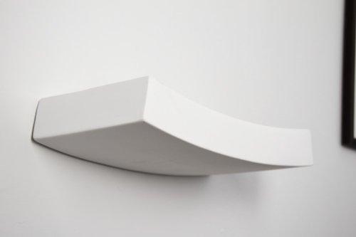 Applique soggiorno moderno thor lampada da parete in tessuto