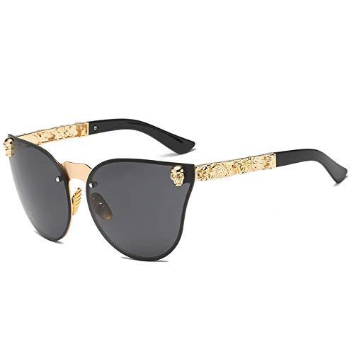 Peanutaoc Personality Trend Sonnenbrille, großer Rahmen, Retro-Stil