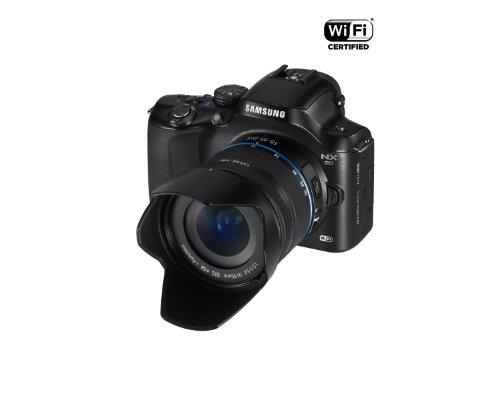 Samsung Kompakte Systemkamera, 20,3Megapixel (NX20), Schwarz - 7