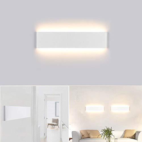 40 Wand-lampe (Kambo LED Wandleuchte 14W Modern Wandlampe Innen IP44 Up Down Warm weiß 2800K 40CM AC85-265V für Badlampe Wohnzimmer Schlafzimmer Treppenhaus Flur Wandbeleuchtung)