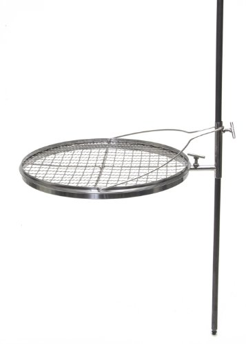Grilling Grate- Adjustable Camping Grill for Barbecues and Open Fires by Camerons Products