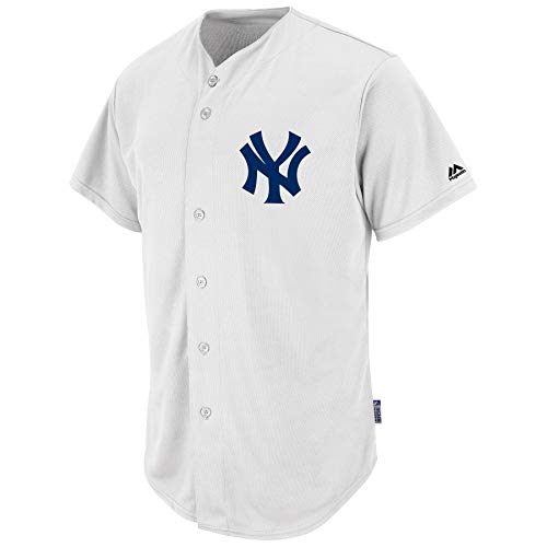 Jersey Majestic Adult MLB Cool Base Pro Style Game New York Yankees Talla XL a270b6e4ff2