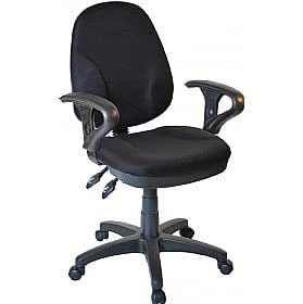 Comfort Ergo 3 Lever Operator Chair With Adjustable Arms