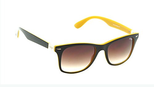 IMAGE (416-C5) Brown Shaded Medium 52mm Wayfarer Sunglasses  available at amazon for Rs.1600