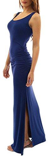 U-shot -  Vestito  - fasciante - Senza maniche  - Donna Navy blue