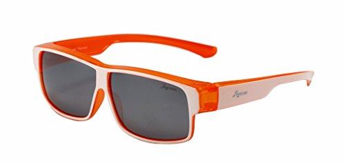 Joysun polarisierte LensCovers Sonnenbrille Unisex tragen über Korrekturbrille 9009