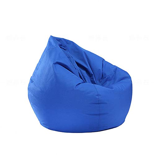 per Bambini e Adulti Giocattoli Storage Bean Bag Poltrona Sacco Poltrona Fodera Impermeabile Interno e Esterno Zipper Pouf Copertura Senza Cuscino