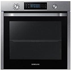 Samsung NV75K5571RS Intégré Electrique 75L A Noir, Acier inoxydable four - fours (Moyenne, Intégré, Electrique, A, Noir, Acier inoxydable, Rotatif, toucher)