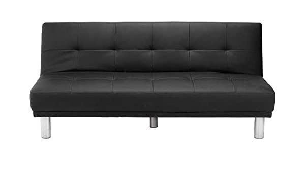 Miraculous Soho Large Clic Clac Sofa Bed Black Amazon Co Uk Home Interior And Landscaping Ologienasavecom