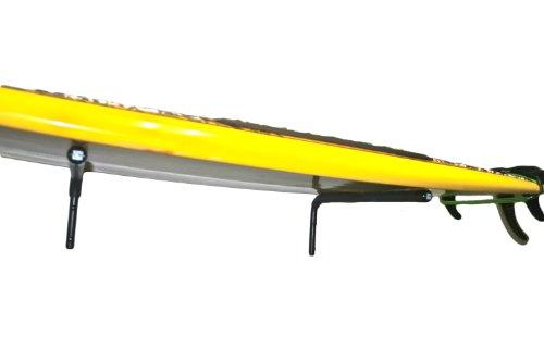 Buen estante de pared horizontal SUP  El Nice Rack Horizontal Wall Rack es un bastidor súper resistente y resistente diseñado para soportar tablas de surf y tablas largas SUP de gran tamaño. Hechas con espuma de nitrilo de calidad para una amortiguac...