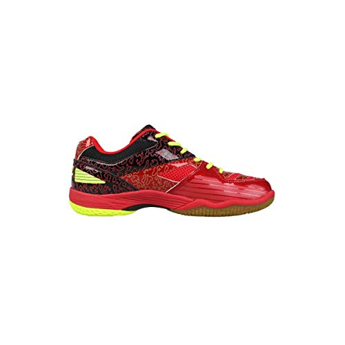 FZ Forza Herren & Damen Sport Badminton Squash Indoor Schuh Court Flyer - Rot - 37,5