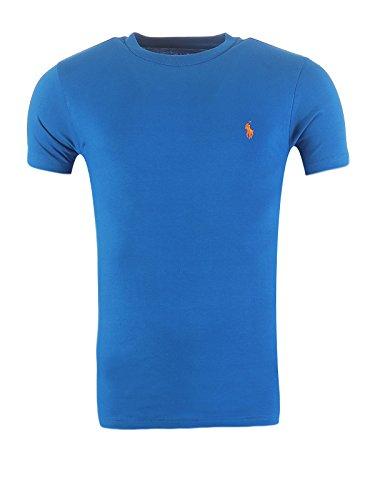 Ralph Lauren, Herren T-Shirt, Custom Fit, verschiedene Farben, S-XL, Größe:M, Farbe:Royal