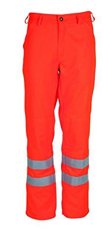 havep 8394N1620h 52Pantaloni da lavoro ad alta visibilità, arancione brillante, H52