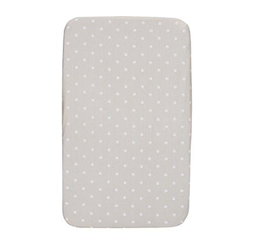 Chicco Next 2 Me - Juego de sábanas ajustable con paloma gris y polluelo para polluelos