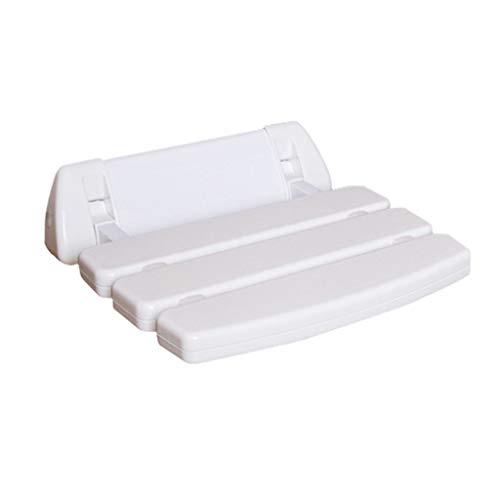 JM-Shower stools Duschhocker ABS Badezimmer Tresor Rutschfester Sitz Duschbad Klapphocker Behinderte/Schwangere/Ältere Duschsitzhocker Kann 150 kg tragen -