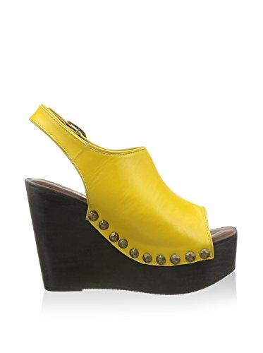 Jeffrey Campbell snick, Santal de Chaussures de Sport Femme citronier