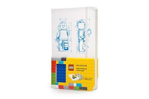 Moleskine Lego Quaderno a Righe, Grande, Bianco