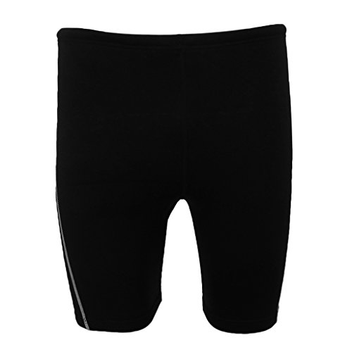 Sharplace Neoprenhose, Neoprene Sport Shorts, 1,8mm Neopren Pants - Schnorcheln Tauchen Surfen - Schwarz, - Rash Für Guard Shorts Frauen
