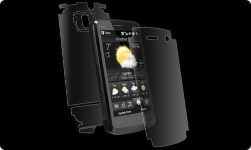 ZAGG invisibleSHIELD (Full Body) für HTC Touch HD