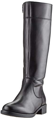 Tamaris Damen 1-1-25550-23 Hohe Stiefel, Schwarz (Black 1), 39 EU