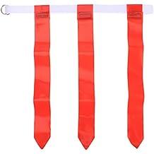 LIOOBO Cinturón de Bandera de fútbol Americano Accesorios de Entrenamiento  de fútbol para ... ccc9f92de42fa