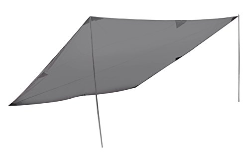 High Peak Sonnensegel Tarp 2, Grau, 10034