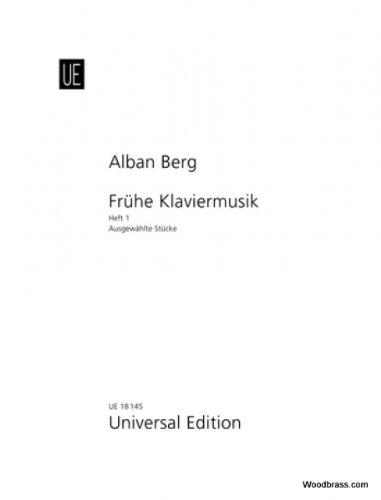 Universal Edition Berg Albano–Selected Piano Pieces Band 1–Piano Partition clásico Piano–instrumento de teclado Piano