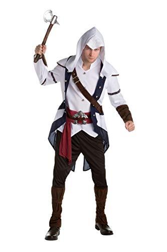 Disfraz Connor clásico Assassin's creed adulto Única