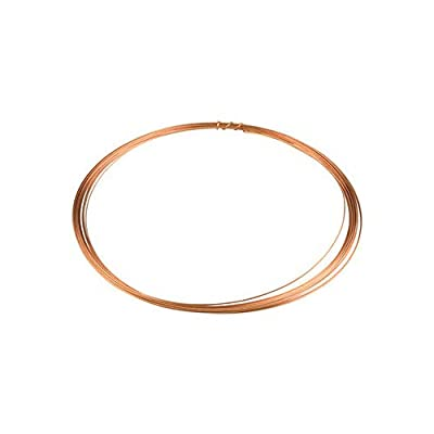 voolex DIY 24 Gauge Copper Jewellery Making Wire-0.60 mm 5 m
