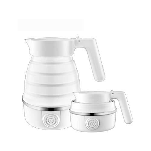 Wenhui Reise Wasserkocher 600ML Wasserkocher Mini Folding Tragbare Reise Wasserkocher Silikon Wasserkocher