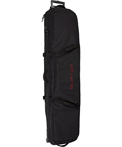 Burton Erwachsene Wheelie Locker Board Bag, True Black, 166 (Wheelie Board)
